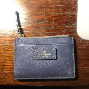 Kate spade card and coin holder